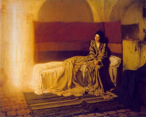 """The Annunciation"" - Henry Ossawa Tanner (1898)"