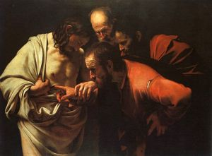 Caravaggio - The Incredulity of St. Thomas