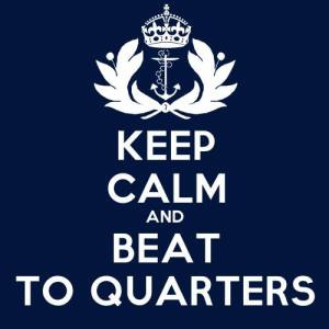 keep calm beat to quarters