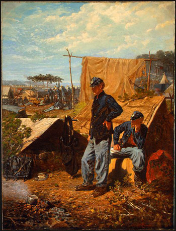 """Home, Sweet Home"" by Winslow Homer, 1863."