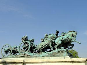 grant memorial - artillery