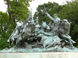 Grant_Memorial - cavalry