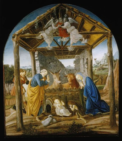 """The Nativity"" - Botticelli"